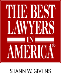Stann Givens - The Best Lawyers in America